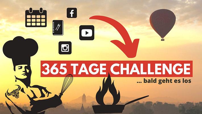 365 Tage Challenge - jeden Tag etwas anderes Kochen und Backen